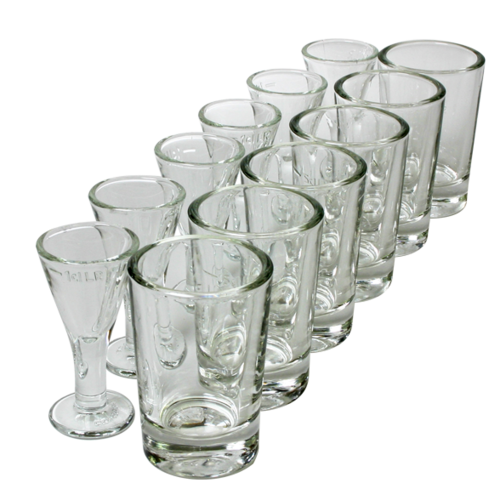 Lüttje Lage Glass Set for hire (6 sets)