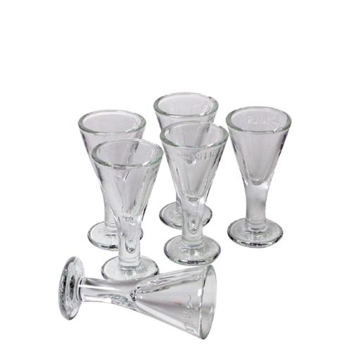 Lüttje Lage Schnaps-Glasses (Pack of 6)
