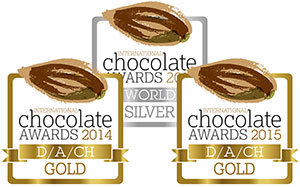International Chocolate Award Logos